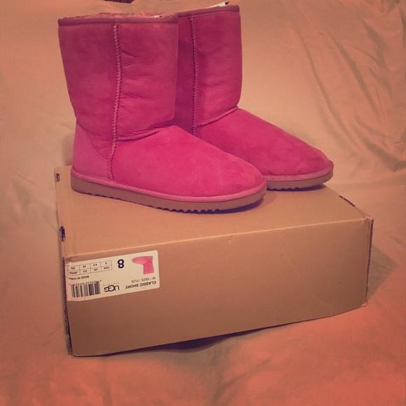 1cce241ec50 Classic Short Fuschia UGG Boots